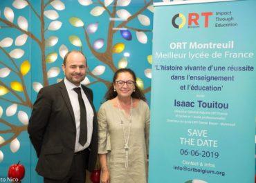 2019 ORT Belgium conference: ORT Montreuil, Meilleur lycée de France